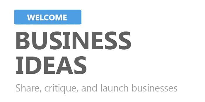 Share business ideas with other high school students, and get feedback and requests to join you in making them into realities