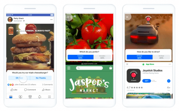 Students can create Facebook Ads to market their business online