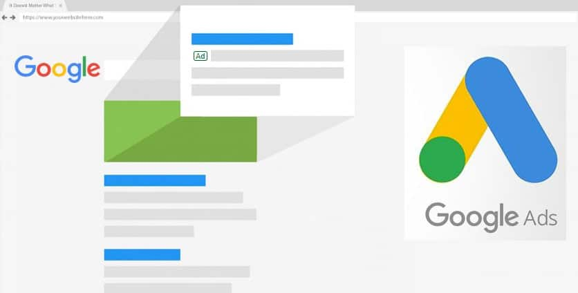 Google ads are great for getting specific, high-quality traffic to your company website