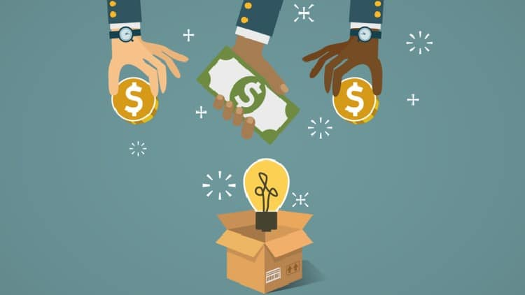 Crowdfunding with a Kickstarter campaign can be a great way to get your high school business started quickly.