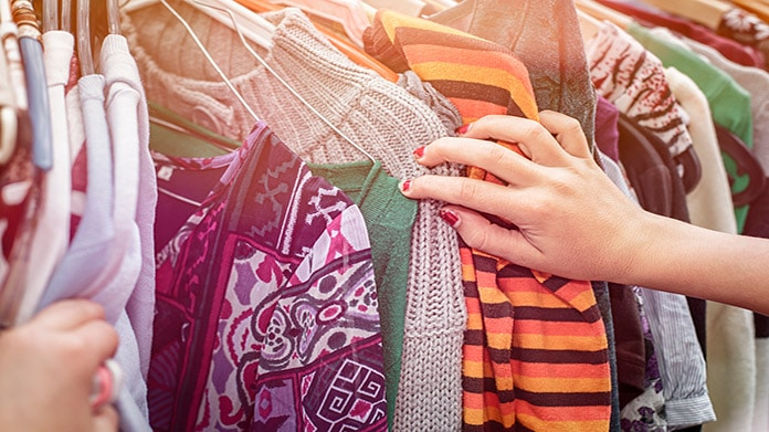Teenager students can create a business to resell their own or other peoples' clothing
