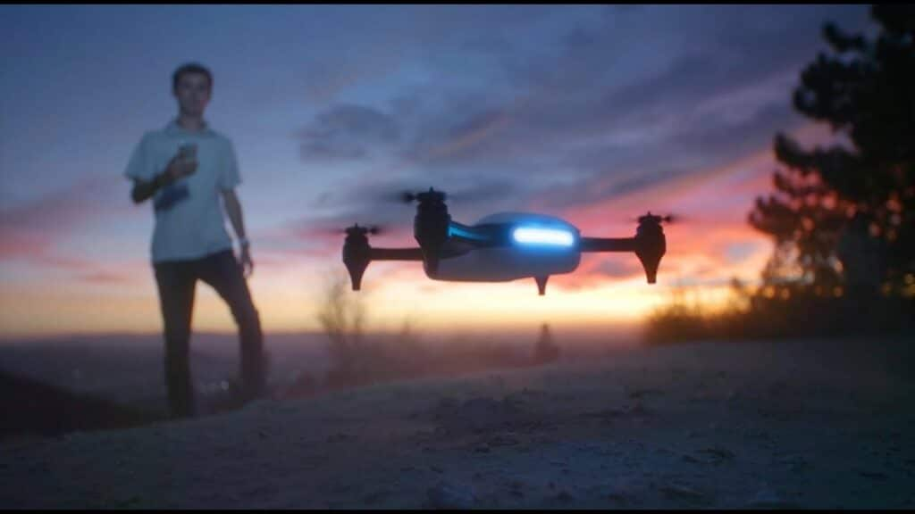 Teen entrepreneur George Matus started a company for selling high quality drones